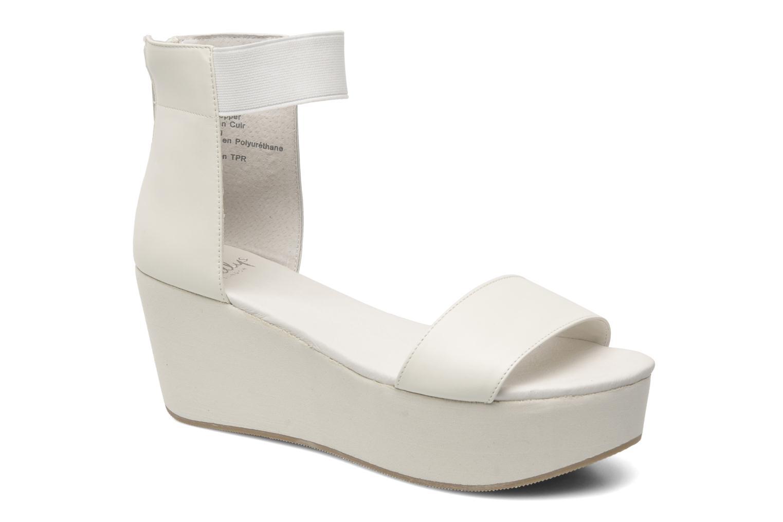 Sandales et nu-pieds Shellys London MAGNI Blanc vue détail/paire