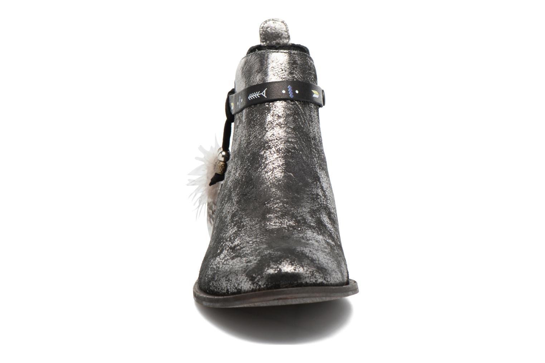 Bottines et boots Schmoove Woman Horse Jodpur Argent vue portées chaussures
