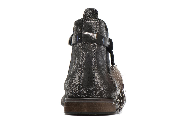 Bottines et boots Schmoove Woman Horse Jodpur Argent vue droite