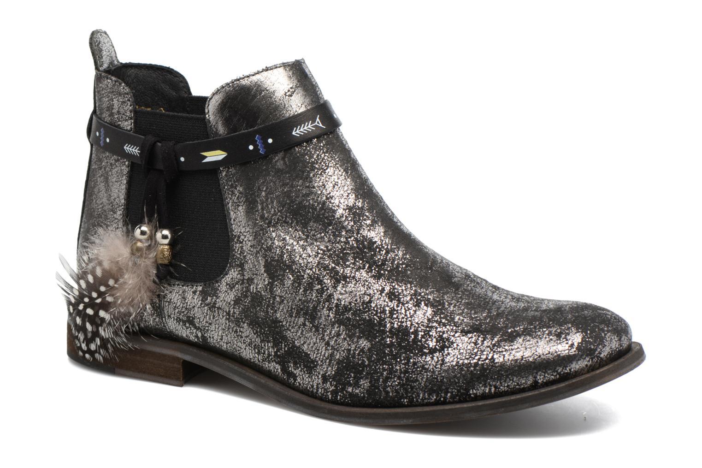 Bottines et boots Schmoove Woman Horse Jodpur Argent vue détail/paire