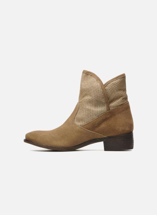 Boots en enkellaarsjes Méliné Chanvre Beige voorkant