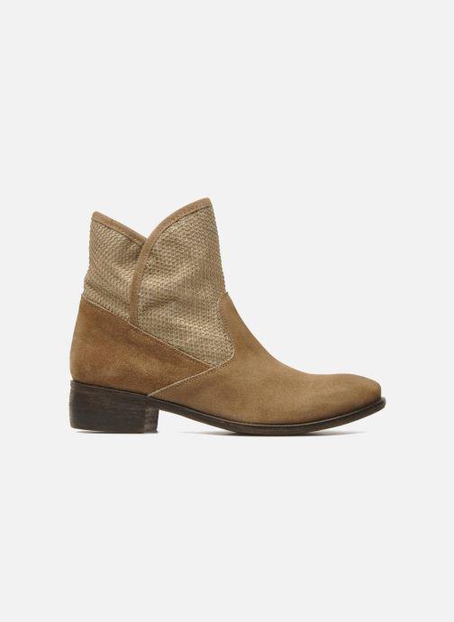Boots en enkellaarsjes Méliné Chanvre Beige achterkant
