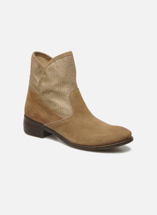 Boots en enkellaarsjes Méliné Chanvre Beige detail
