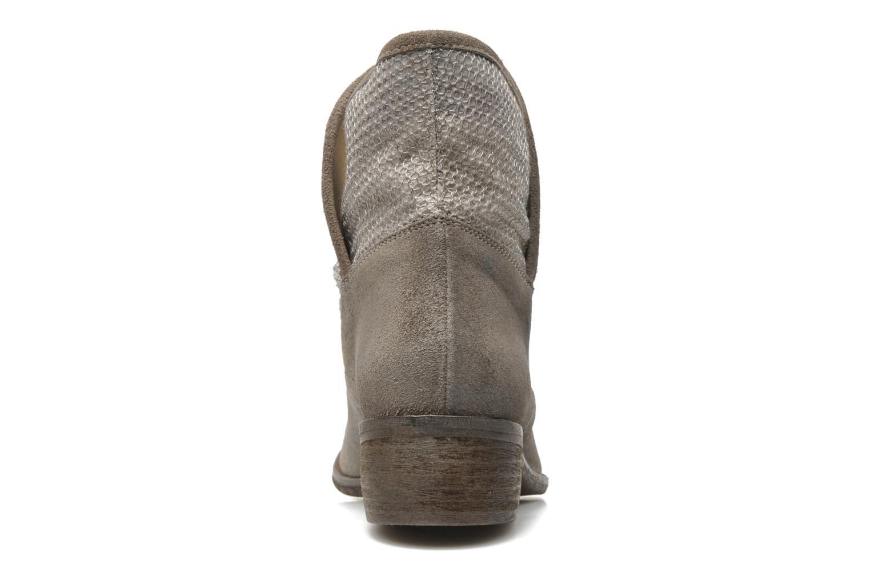 Bottines et boots Méliné Chanvre Gris vue droite
