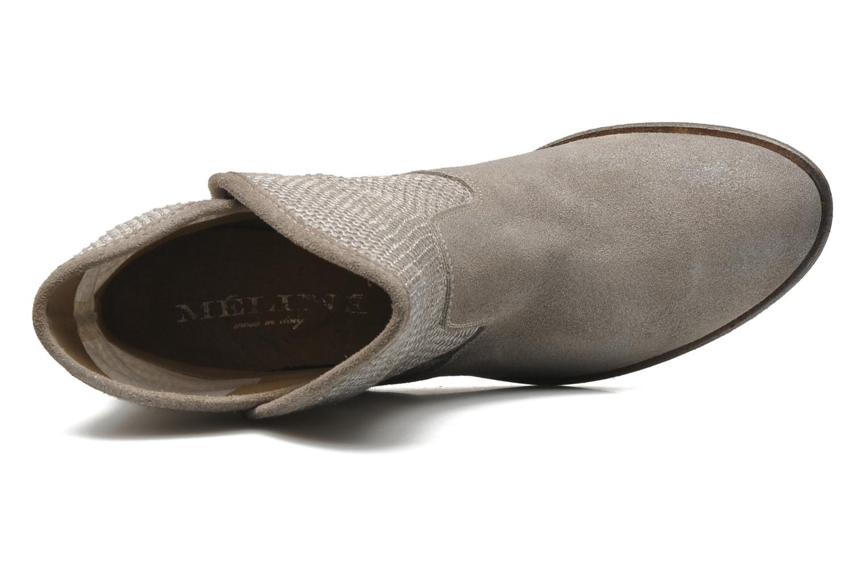 Bottines et boots Méliné Chanvre Gris vue gauche