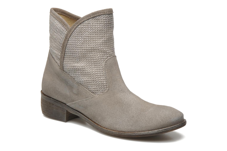 Bottines et boots Méliné Chanvre Gris vue détail/paire