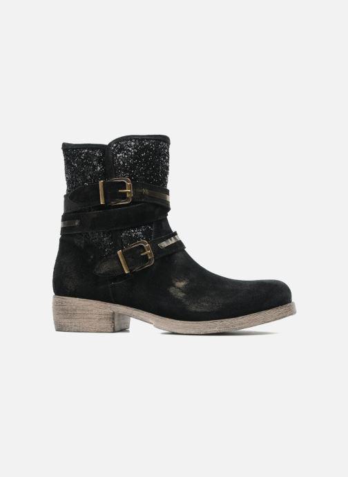Bottines et boots Méliné Coton Noir vue derrière