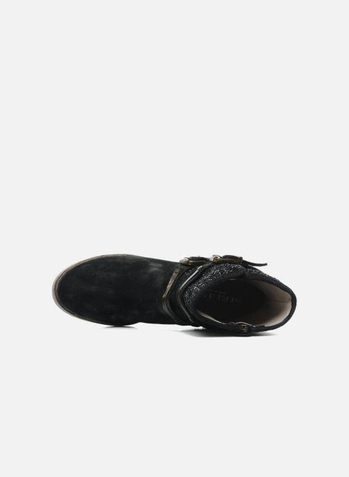 Bottines et boots Méliné Coton Noir vue gauche