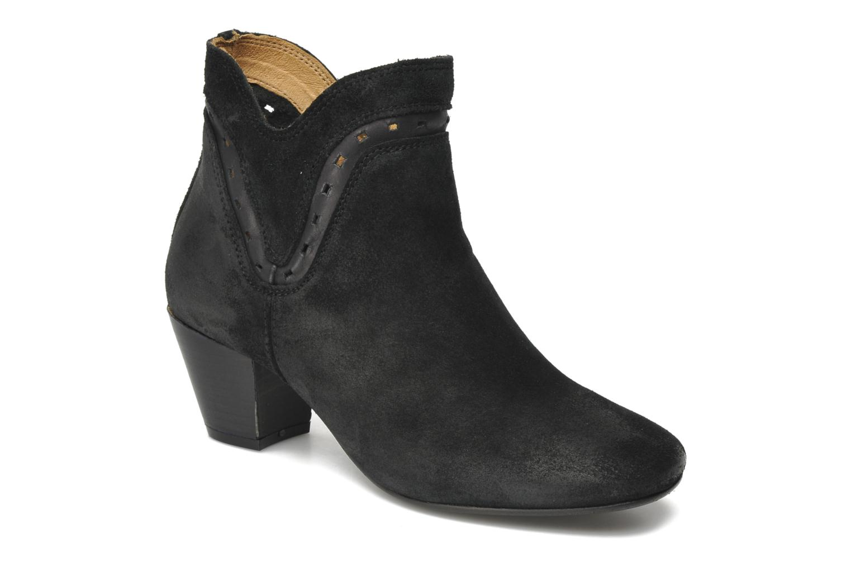 Boots H By Hudson Rodin Svart detaljerad bild på paret