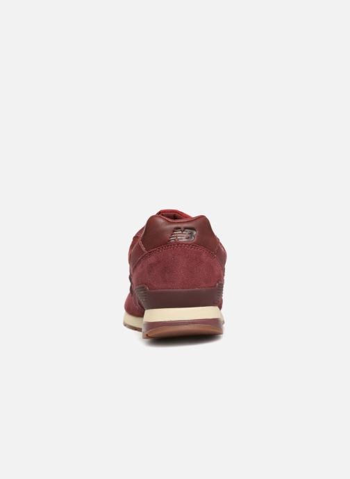 Trainers New Balance MRL996 Burgundy view from the right