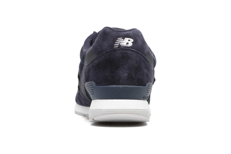 Sneaker New Balance MRL996 blau ansicht von rechts