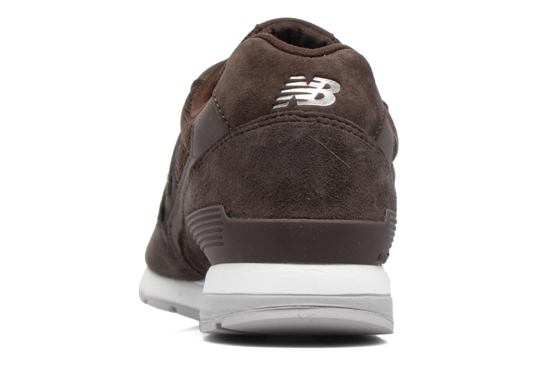 Sneaker New Balance MRL996 braun ansicht von rechts