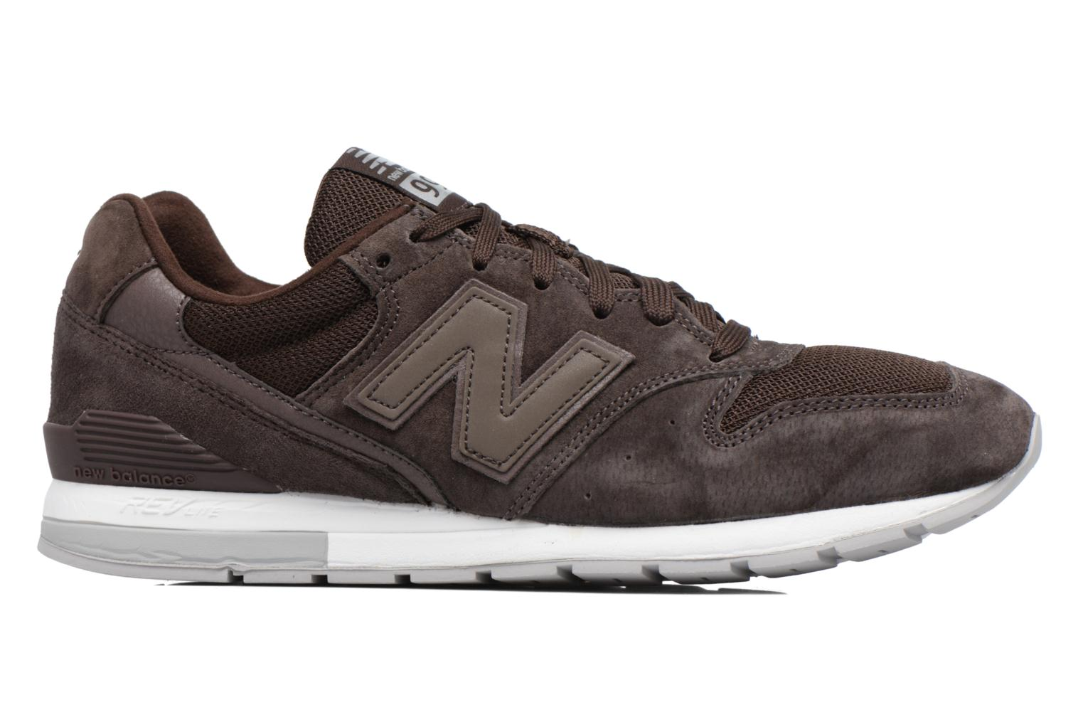 Trainers New Balance MRL996 Brown back view