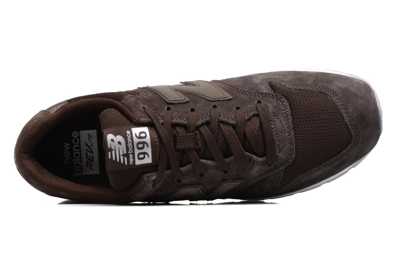 Sneaker New Balance MRL996 braun ansicht von links