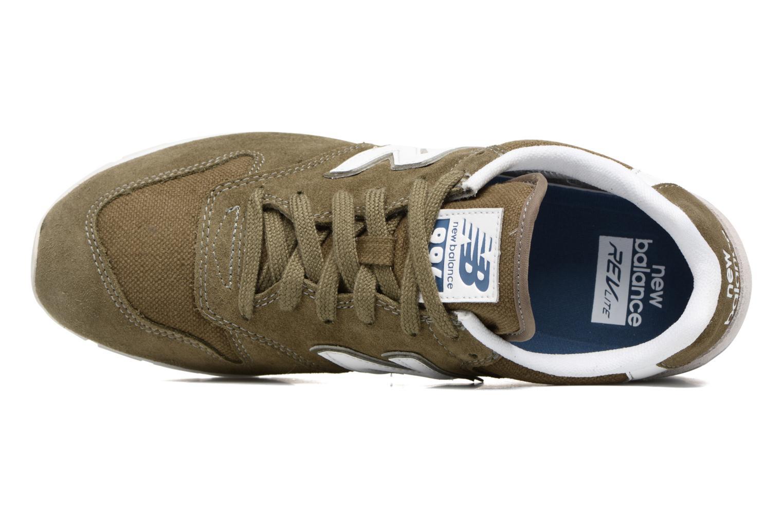 Sneakers New Balance MRL996 Grön bild från vänster sidan