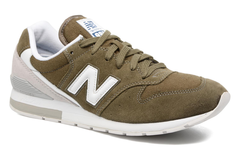 Sneakers New Balance MRL996 Grön detaljerad bild på paret