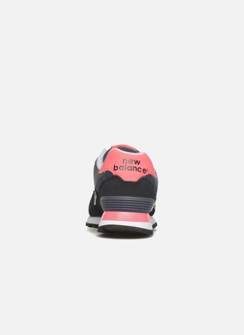 Baskets New Balance WL574 Noir vue droite