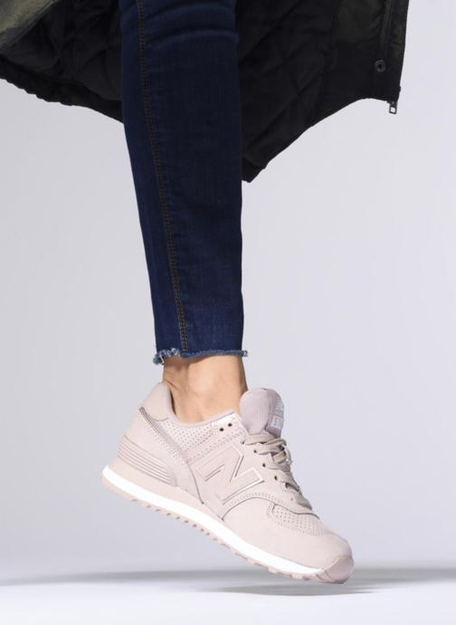 Sneakers New Balance WL574 Oranje onder