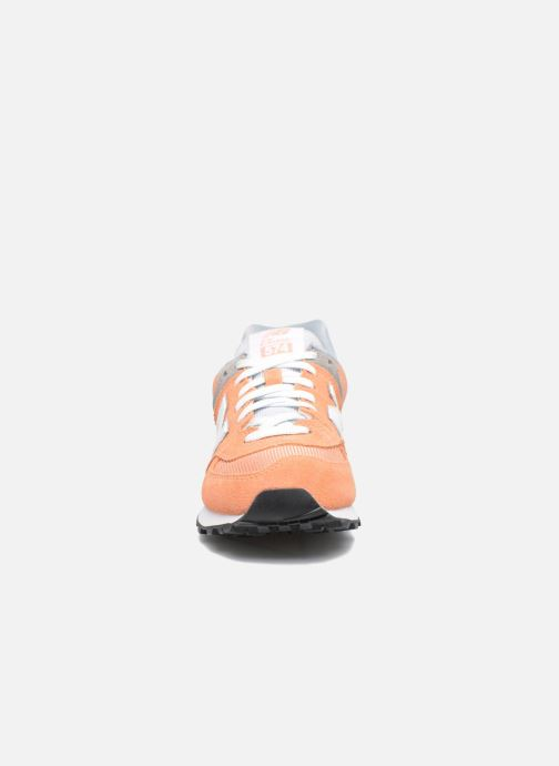 Sneakers New Balance WL574 Oranje model