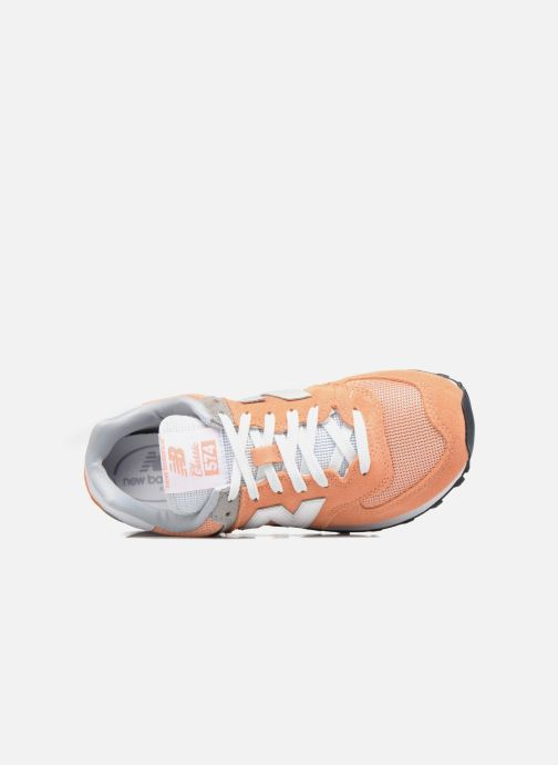 Sneakers New Balance WL574 Oranje links