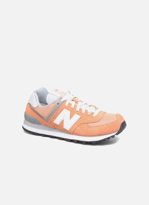 New Balance WL574 (Orange) Sneakers på Sarenza.se (303473)