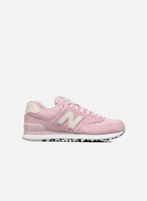 Trainers New Balance WL574 Pink back view