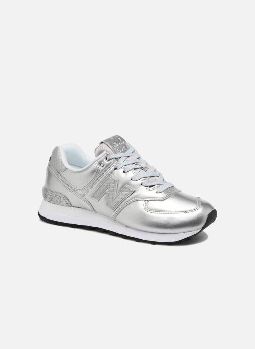 Sneakers New Balance WL574 Zilver detail