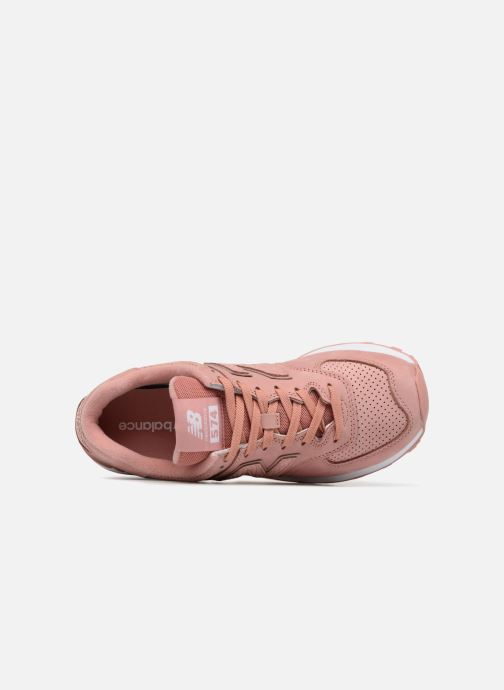 Sneakers New Balance WL574 Roze links