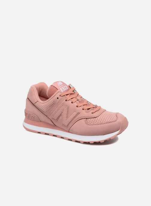 Sneakers New Balance WL574 Roze detail