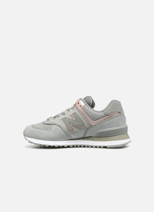 Sneakers New Balance WL574 Verde immagine frontale