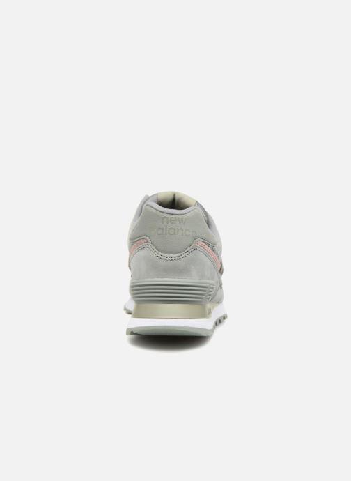 Sneakers New Balance WL574 Verde immagine destra