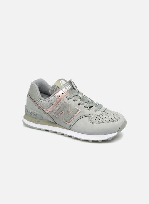 Sneakers New Balance WL574 Verde vedi dettaglio/paio