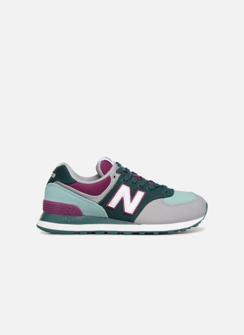Baskets New Balance WL574 Multicolore vue derrière