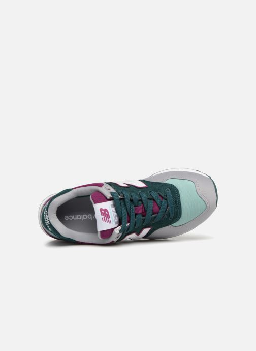 Baskets New Balance WL574 Multicolore vue gauche