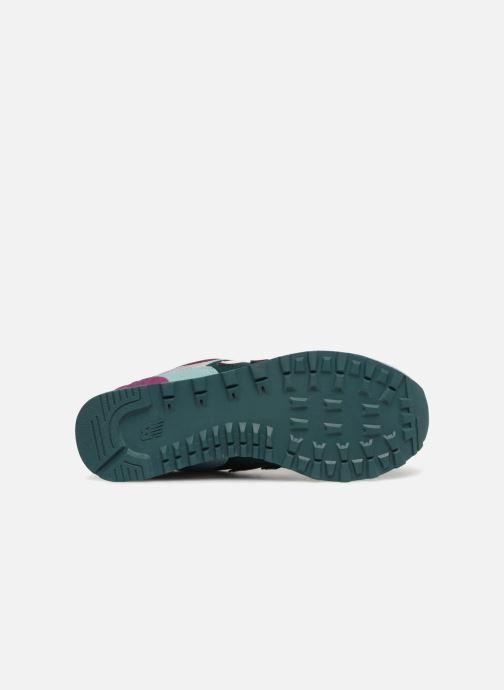 Sneakers New Balance WL574 Multicolore immagine dall'alto