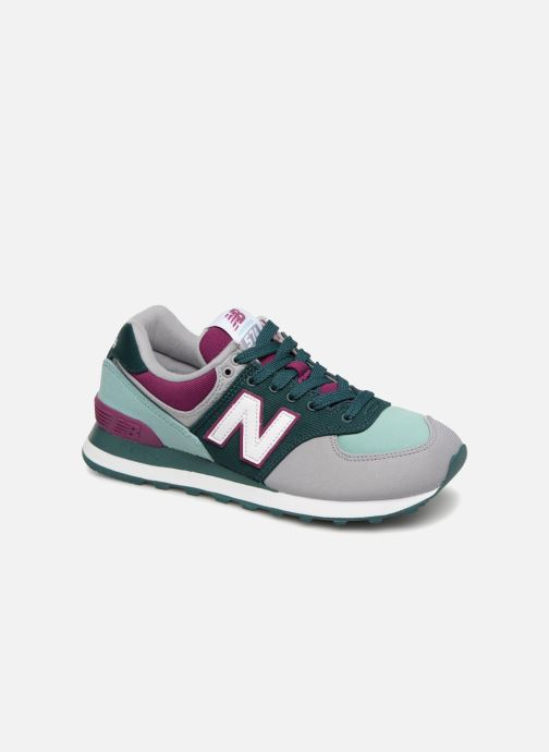 Baskets New Balance WL574 Multicolore vue détail/paire