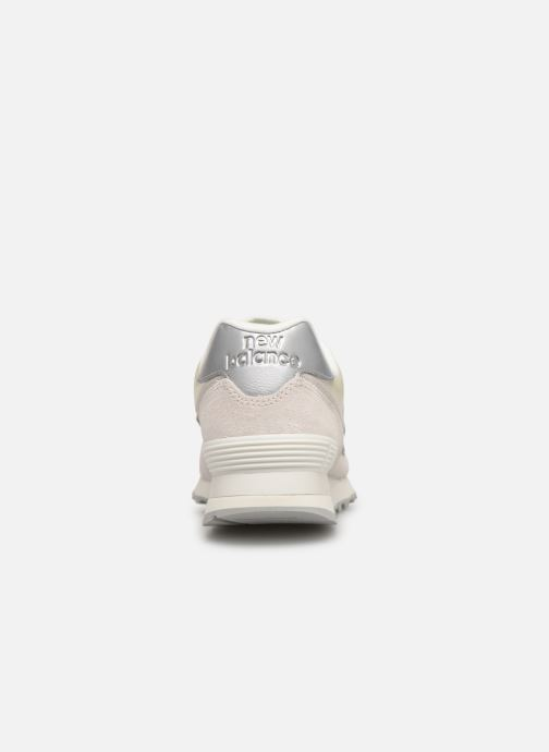 Sneakers New Balance WL574 Hvid Se fra højre