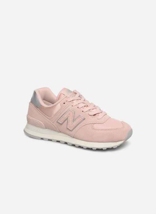 Sneaker New Balance WL574 rosa detaillierte ansicht/modell
