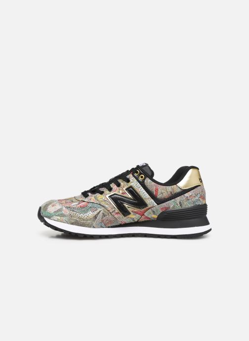 Trainers New Balance WL574 Multicolor front view