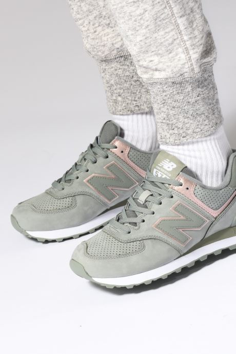 Sneakers New Balance WL574 Paars onder