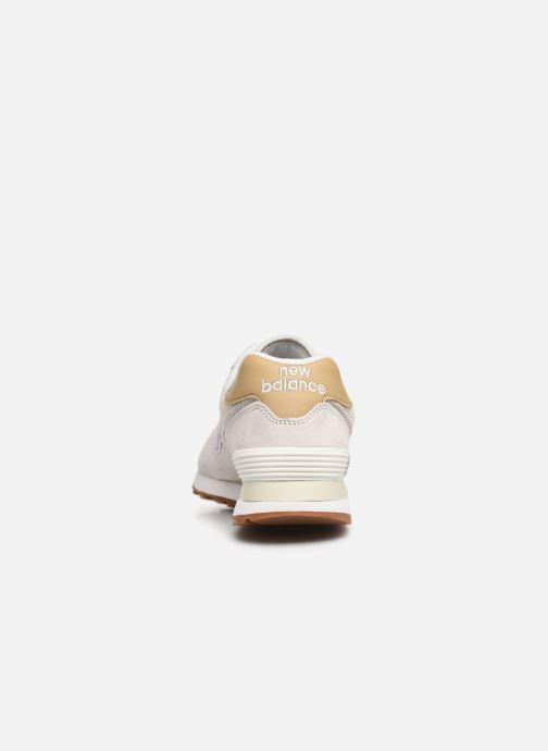 Sneakers New Balance WL574 Grå Se fra højre
