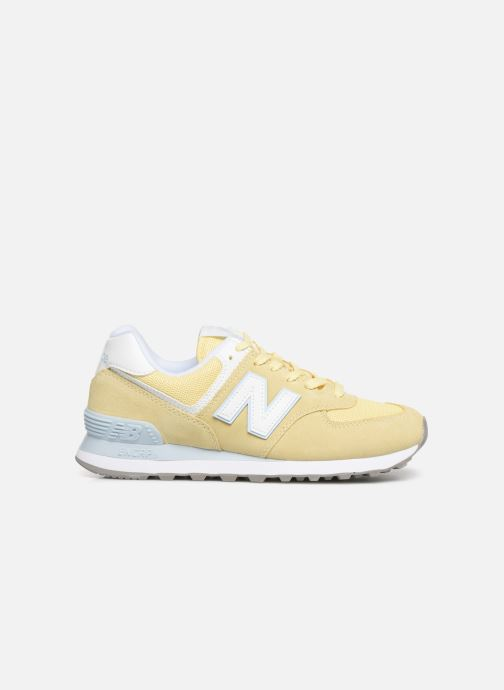 Trainers New Balance WL574 Yellow back view