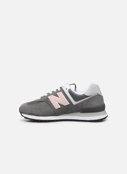 Sneakers New Balance WL574 Grijs voorkant