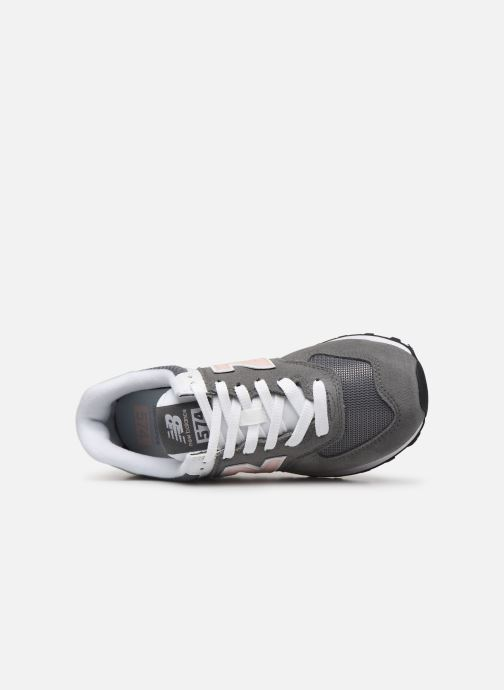 Trainers New Balance WL574 Grey view from the left