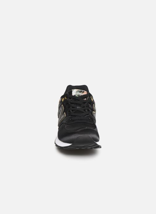 Trainers New Balance WL574 Black model view