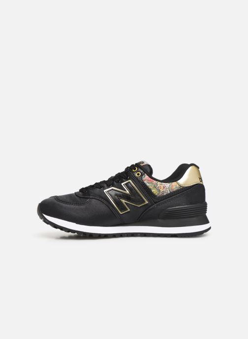 Baskets New Balance WL574 Noir vue face