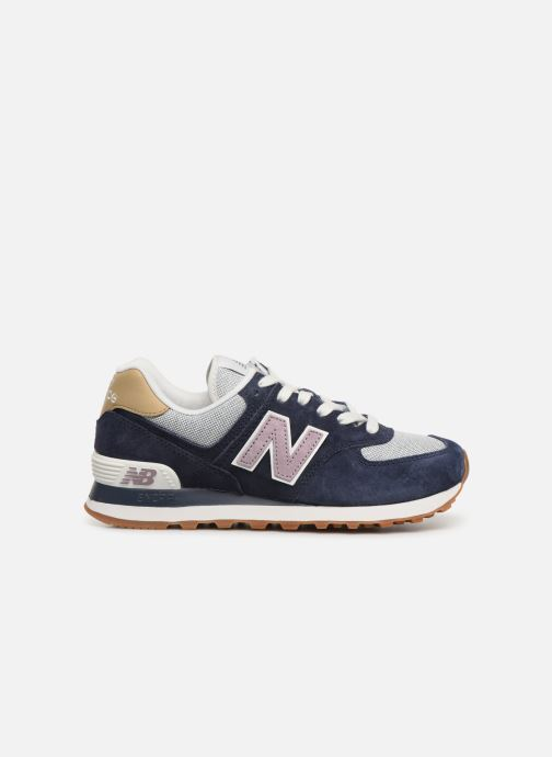 Trainers New Balance WL574 Blue back view