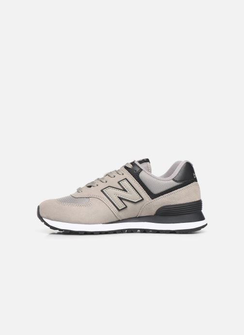 Baskets New Balance WL574 Gris vue face