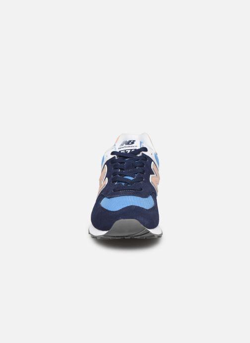 Sneakers New Balance WL574 Blå se skoene på
