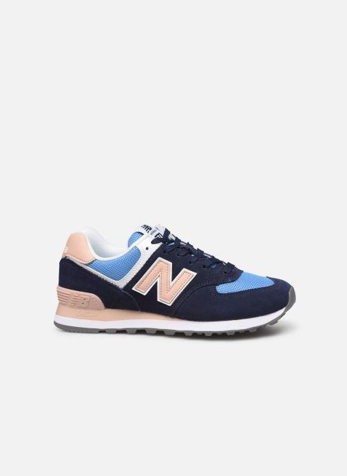 Sneakers New Balance WL574 Blå se bagfra